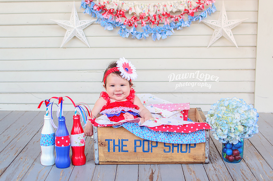 Fashion style 4th of baby july pictures for girls